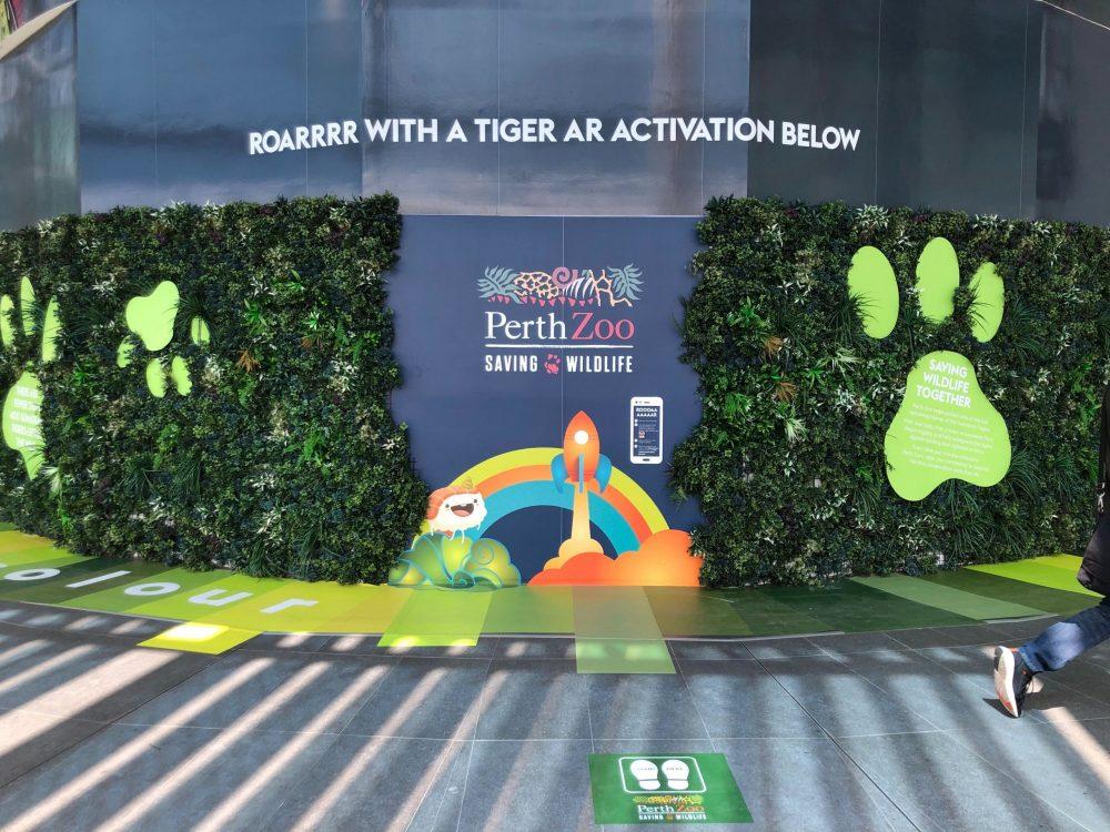 tiger AR activation forrest chase